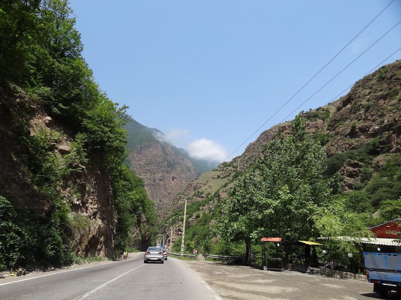 On the road to Rasht