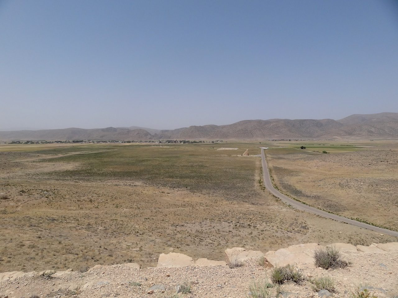View from Throne Hill, Prison of Solomon in the mid distance
