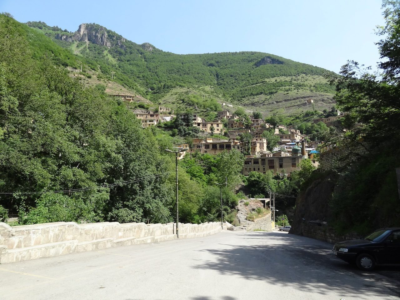 First glimpse of Masuleh