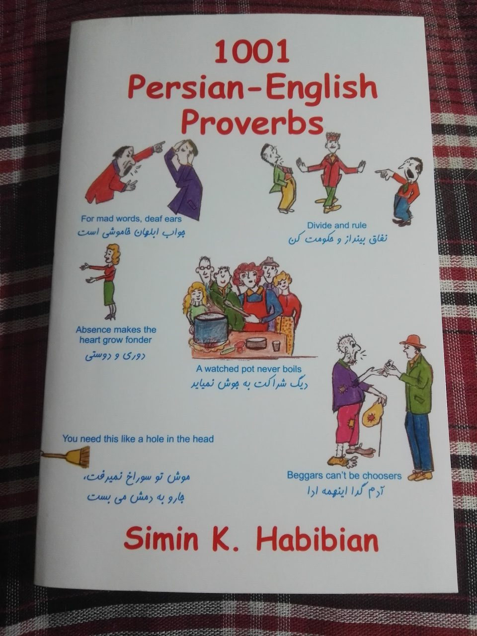 Simin Habibian - 1001 Persian-English Proverbs