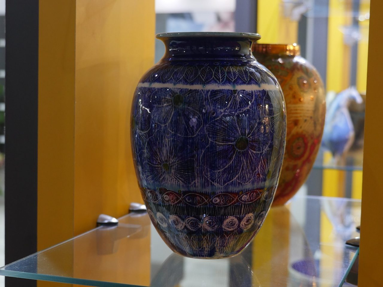 Pottery at the Handcrafts Exhibition