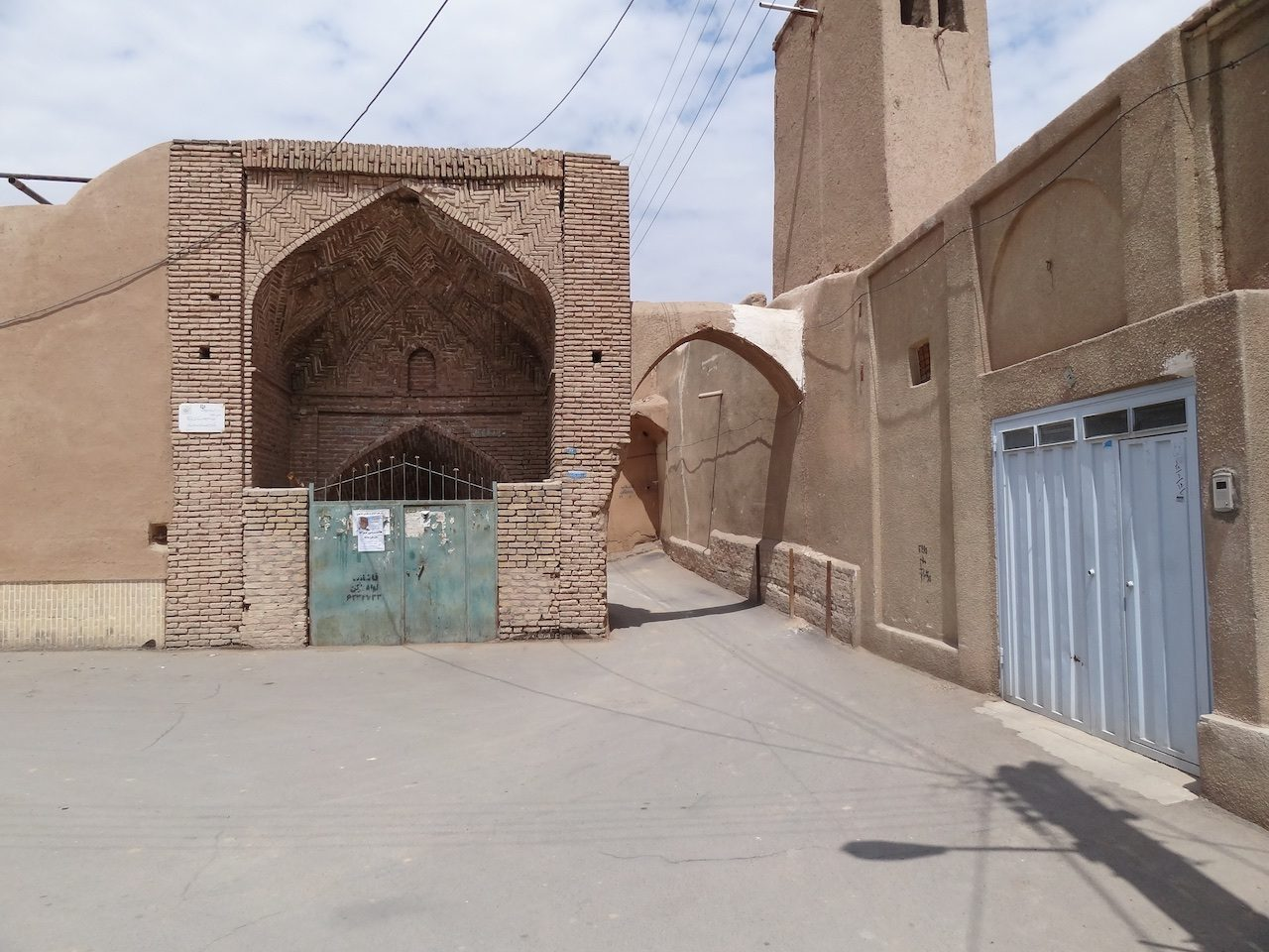 Old qanat entrance